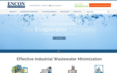 ENCON Evaporators website