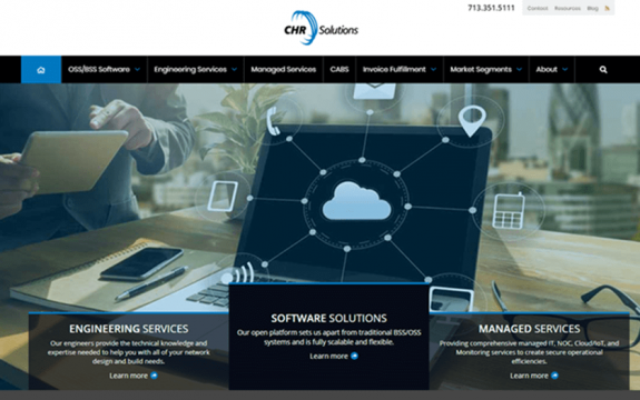 CHR Solutions website