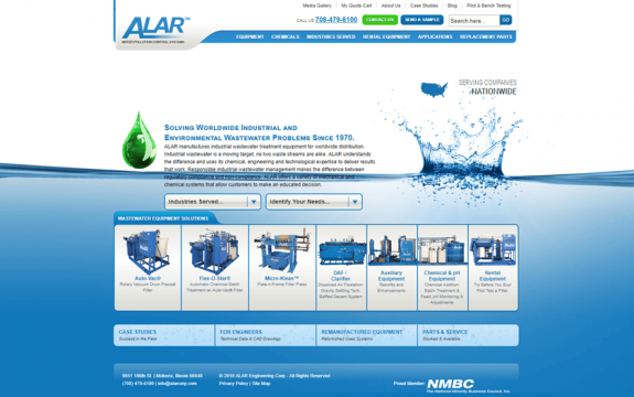 ALAR Engineering Corp. website